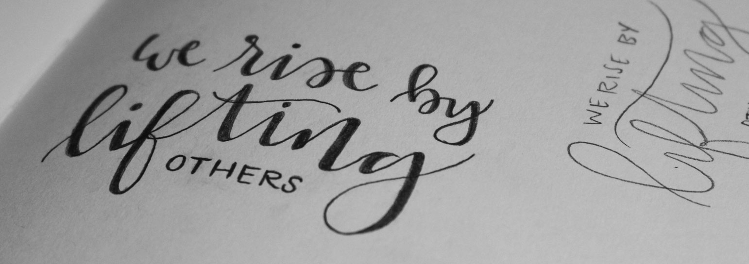 Hand Lettering: 4 Key Observations from One Beginner to Another: Feature Image