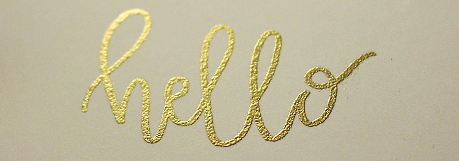10 Tips for the Hand Lettering Beginner: Hello